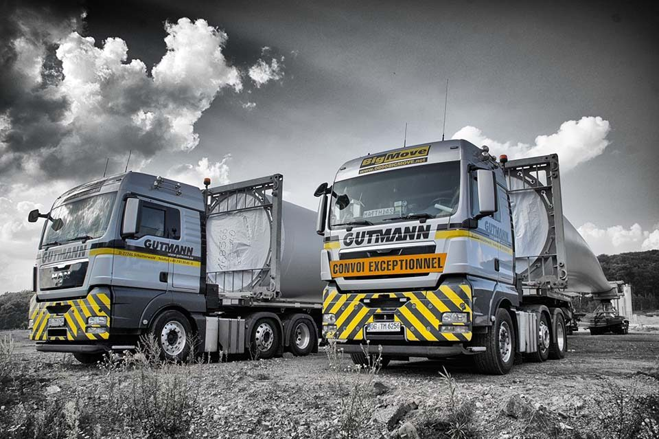 LKW Spedition Gutmann
